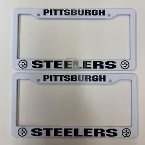 NFL Pittsburg Steelers Plastic License Plate Frame