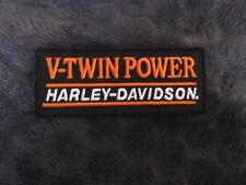 Biker patch V-Twin Power / Harley Davidson The best / vest patches