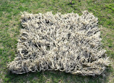 Hunting Military Army Ghillie Suit 80*90cm Burlap Desert Camo Net