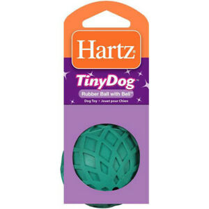 HARTZ - Rubber Ball with Bell Dog Toy - 1 Toy