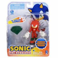 "SONIC ""Knuckles with Master Emerald"", 65820, Figure, Cartoon, Jazwares NEW RARE"
