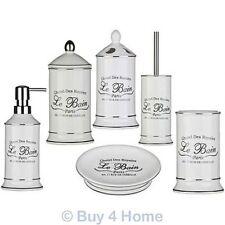 Bin Ceramic Bath Accessory Sets