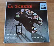 PUCINI La Boheme Tebaldi Serafin DECCA SXL 2170/71-B