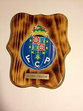 "Handmade Porto Pine Plaque 10""L X 8.5""W X 3/4""H (Portuguese Soccer Team)"