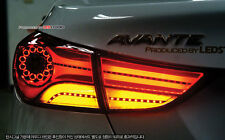 (Fits: Hyundai 2011+ Elantra) Chrome JN-Cap LED Rear Tail Light Lamp module DIY