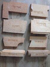 Aga Rayburn Fire Bricks Firebricks - Royal - Left Oven - FULL SET
