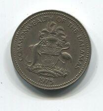 MONNAIE 5 CENTS BAHAMAS 1975 COIN