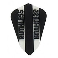 BLACK RUTHLESS FANTAIL SHAPE CLEAR PANEL FLIGHTS