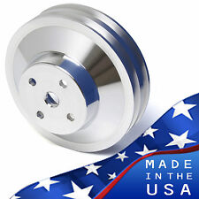 Pontiac Water Pump Pulley 350 400 428 455 Gto V8 Wp Billet Aluminum V Belt Vbelt