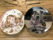 Hamilton Collection And Royal Worcester Collector Plates -cat, Cats