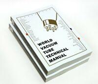 World Vacuum Tube Technical Manual Book for Western Electric, RCA, Mullard, GE