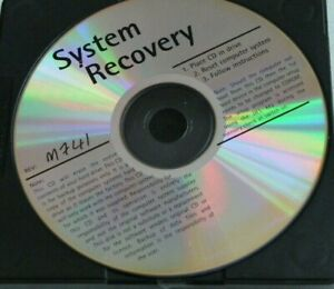 System Recovery M741 PC Computer Installation software discs. Please note no pap