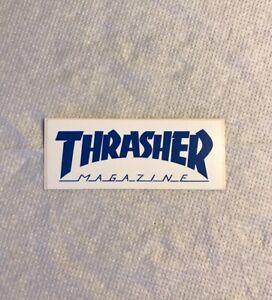 Vintage skateboard sticker Thrasher Magazine Neil Zorlac alva sims NOS Mark Hawk