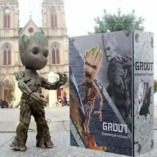Guardians of the Galaxy Baby Groot Life-Size HT LMS005 26CM Action Figure Gift