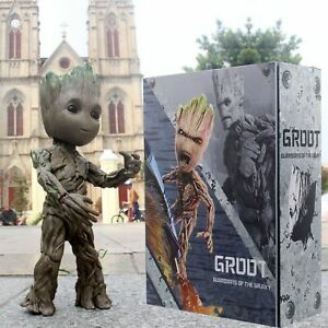 Guardians of the Galaxy Baby Groot Life-Size HT LMS005 26CM Action Figure 2019 .