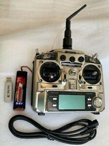 Futaba Transmitter T9CAP with Spektrum 2.4GHz DSM2 DM8 Channel Aircraft Module