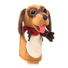 Dog Puppet with Movable Mouth & Paws, Folkmanis Stage Puppet MPN 3100, Unisex