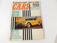 Vintage Original April 1961 CARS The Automotive Magazine Custom Car Mods
