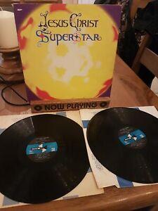 "JESUS CHRIST SUPERSTAR Lloyd Webber OST Soundtrack 1972 Double 12"" Vinyl LP VG+"