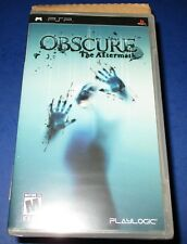Lot of 4 (Sealed Case) Obscure: The Aftermath Sony PSP  *New-Sealed-Free Ship!