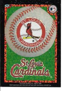 St Louis CARDINALS Baseball Vintage Sticker MLB Merchandise