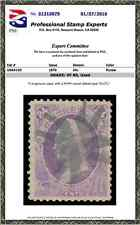 #153 Used PSE Graded 80 w/ NYFM Cancel, Cert # 01310079