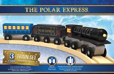 The Polar Express Deluxe Wooden Train Masterpieces 41985 Christmas