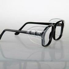 1 Pair Spec Shields Clear Side Shield For Safety Glasses Clip On  SALE Gift X8R3
