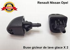 Renault Trafic Laguna buse gicleur de lave glace x 2 Neuf 7700823915
