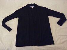 Womens Banana Republic Jacket Wool Sweater XS Black
