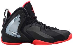New Nike Lil Penny Posite PRM QS Men's Shoes 652121-001 Black/Atomic Red Size 10