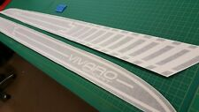Vauxhall Vivaro short wheel base side stripes decals stickers sport any colour