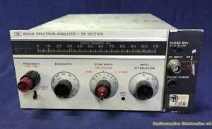 RF SECTION Spectrum Analyzer HP 8553B