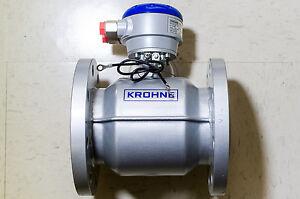 "NEW 4"" Krohne OPTIFLUX 4000 DIV2 Electromagnetic Flow Sensor NL-3313 LC"