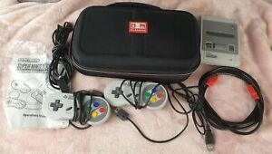 Super Nintendo Entertainment System Nintendo Classic Mini (SNES Mini) + Extras