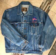"Planet Hollywood ""Lake Tahoe"" Vintage '90's Jean Jacket sz: S heavy cotton denim"