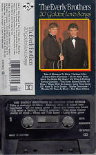 EVERLY BROTHERS - 20 Golden Love Songs 📼 MC Musikkassette