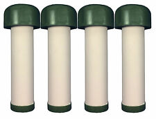 4 Pack Soldier Water Filter Replacement Cartridge 0.1 Micron Dual Ceramic 1-92RC