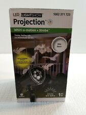 Gemmy Halloween LED Light Projector Outdoor Stake Bat and Ghost light