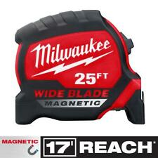Milwaukee 48-22-0225M 25 ft. x 1.3 in. Wide Blade Magnetic Tape Measure