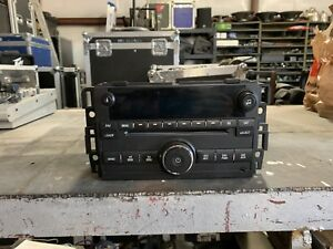 07-13 GM CHEVROLET SILVERADO LT 1500 6 Disc CD Player Radio Part # 25782842