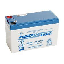 Power Sonic PS1270 12V 7Ah Batería Recargable AGM-Adecuado Para Alarmas, Cctv