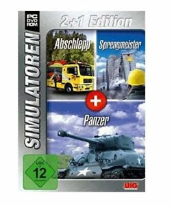 Simulatoren: Abschlepp, Sprengmeister, Panzer [PC] USK 12