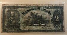 1897 $2 two dollars Dominion of Canada - Edward VII, fishermen and farmers