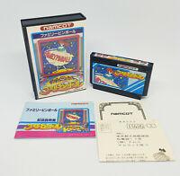 Famicom Nintendo Family Pinball Namcot 1989 Version Japon Complet