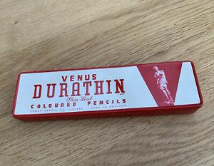 Venus Durathin Thin Lead Red Coloured Pencils - Unused