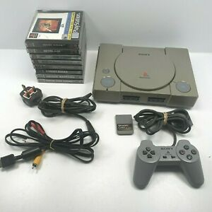 SONY PLAYSTATION 1 PS1 CONSOLE & GAME BUNDLE JOBLOT SPYRO 2 Medal of Honour