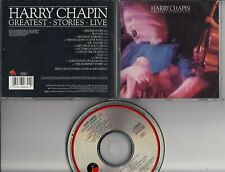 HARRY CHAPIN Greatest Stories Live CD USA ELEKTRA 6003-2 MINT freepostage
