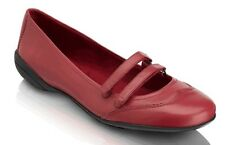 Rockport Laura Mary Jane Leder Flats Adidas adiprene INSIDE red SZ 5 MED NEU