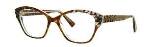 LAFONT Daphne 675 Brown Havana Cat Eye Eyeglasses Frame France 51-16-138